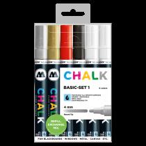 Chalk Marker 4mm Basic-Set 1