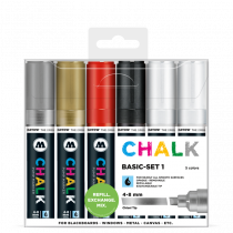 Chalk Marker 4-8mm Basic Set 1
