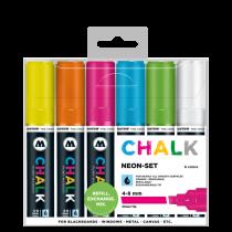 Chalk Marker 4-8mm Neon-Set