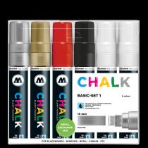 Chalk Marker 15mm Basic-Set 1