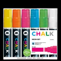 Chalk Marker 15mm Neon-Set