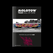 """MOLOTOW™ TRAIN Poster #23 """"KAISY"""""""