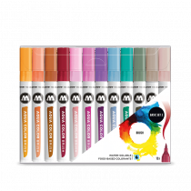 AQUA COLOR BRUSH BASIC SET 2
